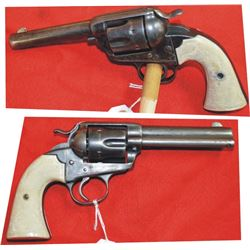 Colt Bisley .45 mfg 1901 #218744, condition is only fair