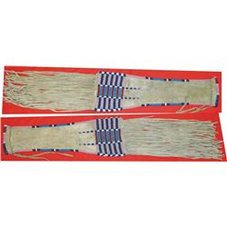 Central Plains beaded pipe bag
