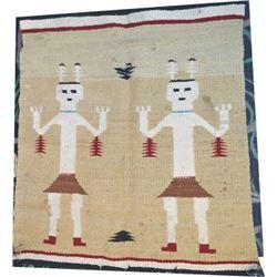 Navajo blanket, Yei pattern