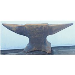 rare 190 lb double horn anvil