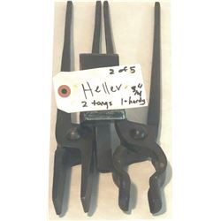 Heller blacksmith tools