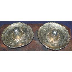 silver sombrero loop back conchos