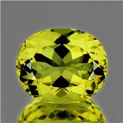 NATURAL GREEN GOLD LEMON QUARTZ 19x15 MM - FL