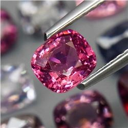 Natural  Fancy Color Burma Spinel 9Pcs/7.00Ct.