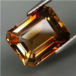 Natural  Imperial Champagne Topaz 6.23 Cts