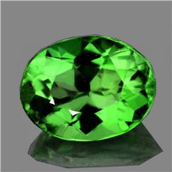 Natural Top Green Tsavorite Garnet {Flawless-VVS1}