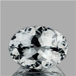 Natural AAA Luster Diamond White Aquamarine - FL