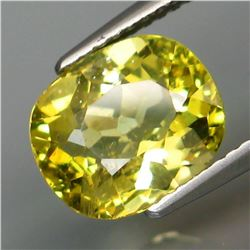 Natural Brazil Yellow Apatite 3.24 Cts - Untreated