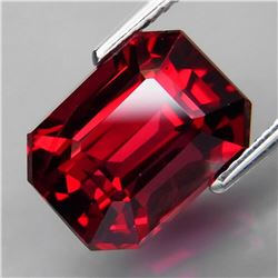 Natural  Red Rhodolite Garnet 7.24 Cts - Untreated