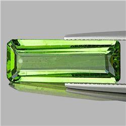 Natural Canary Green Apatite 23x8 MM - VVS