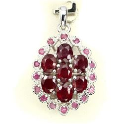 Natural Top Blood Red Ruby Pendant