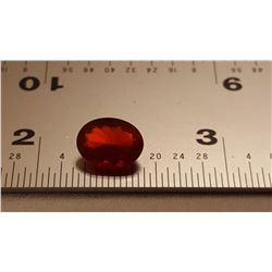 EXCEPTIONAL UNTREATED 1.18 CT RED ORANGE FIRE OPAL