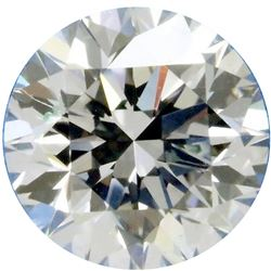 SPARKLING 3.52 CT WHITE ROUND CUT DIAMOND