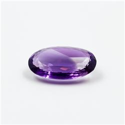BEAUTIFUL 17.61 CT CERTIFIED NATURAL AMETHYST