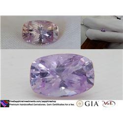 Vivid Pastel Bi-Color Pink/Purple fine Sapphire 2.16 ct
