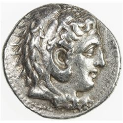 MACEDONIAN KINGDOM: Philip III Arrhidaios, 323-317 BC, AR tetradrachm (17.17g), Babylon. VF