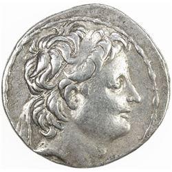 SELEUKID KINGDOM: Alexander II Zabinas, 128-122 BC, AR tetradrachm (16.53g), Antioch. VF
