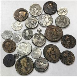 ANCIENT GREECE: LOT of 23 coins from the Greek world