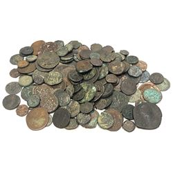 ANCIENT: LOT of 146 mostly bronze ancient coins