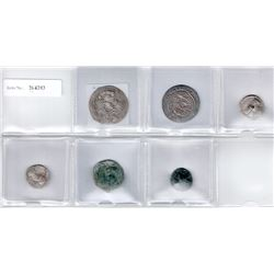 ANCIENT: LOT of 6 ancient coins