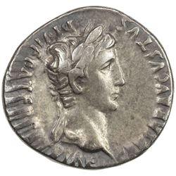 ROMAN EMPIRE: Augustus, 27 BC-14 AD, AR denarius (3.87g), Lugdunum. VF