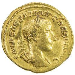 "ROMAN EMPIRE: Gordian III, 238-244 AD, AV imitative aureus (4.72g), ""Rome"". VF"