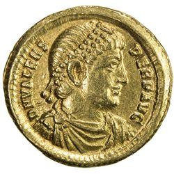 ROMAN EMPIRE: Valens, 364-378 AD, AV solidus (4.43g), Antioch. VF-EF