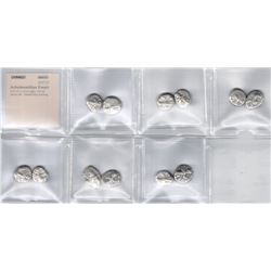 ACHAEMENID EMPIRE: LOT of 12 silver sigloi