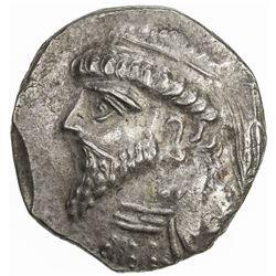 ELYMAIS: Kamnaskires V, ca. 62-54 BC, AR tetradrachm (15.39g), ND. VF-EF