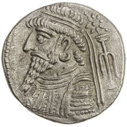 ELYMAIS: Anonymous, ca. 30 BC to 50 AD, AR tetradrachm (14.89g), Seleukeia, ND. EF