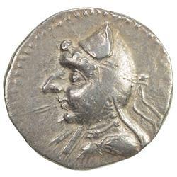 PARTHIAN KINGDOM: Mithradates I, c. 171-138 BC, AR drachm (4.35g). VF-EF