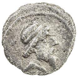 PARTHIAN KINGDOM: Mithradates I, c. 171-138 BC, AR obol (0.60g). VF