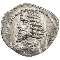PARTHIAN KINGDOM: Phraates III, c. 70-57 BC, AR drachm (3.71g), the Court mint. EF