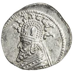 PARTHIAN KINGDOM: Phraates III, c. 70-57 BC, AR drachm (3.95g), the Court mint. EF