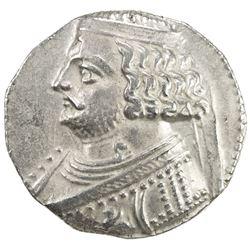 PARTHIAN KINGDOM: Orodes II, c. 57-38 BC, AR tetradrachm (14.62g), Seleukeia on the Tigris, ND. VF-E