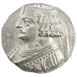 PARTHIAN KINGDOM: Orodes II, c. 57-38 BC, AR tetradrachm (14.62g), Seleukeia on the Tigris, ND. VF-E