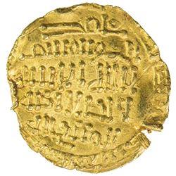 FATIMID: al-Qa'im, 934-946, AV 1/4 dinar (1.00g), NM, NM. VF-EF