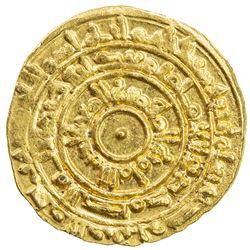 FATIMID: al-Mu'izz, 953-975, AV dinar (4.18g), Misr, AH364. EF-AU
