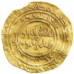 FATIMID: al-Zahir, 1021-1036, AV dinar (4.18g), al-Mansuriya, AH422. VF