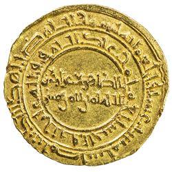 FATIMID: al-Zahir, 1021-1036, AV dinar (4.21g), Misr, AH416. EF