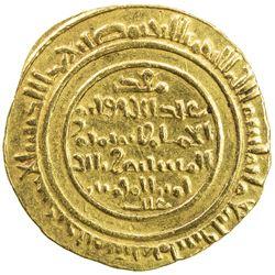 FATIMID: al-Mustansir, 1036-1094, AV dinar (4.12g), al-Iskandariya (Alexandria), AH480. VF-EF