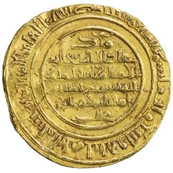 FATIMID: al-Mustansir, 1036-1094, AV dinar (4.05g), al-Iskandariya, AH483. F-VF