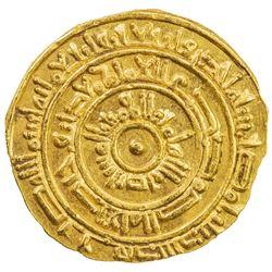 FATIMID: al-Mustansir, 1036-1094, AV dinar (4.30g), Misr, AH441. AU