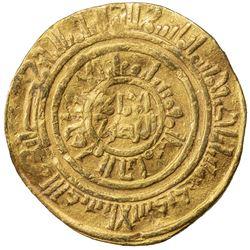 FATIMID: al-Amir al-Mansur, 1101-1130, AV dinar (4.17g), al-Iskandariya, AH501. F-VF