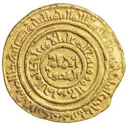 FATIMID: al-Amir al-Mansur, 1101-1130, AV dinar (4.39g), al-Iskandariya, AH511. VF