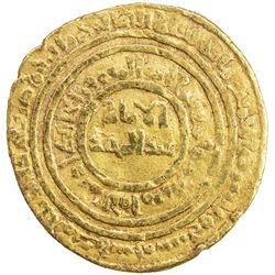 FATIMID: al-Hafiz, 1131-1149, AV dinar (4.17g), Misr, AH527. F