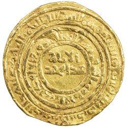 FATIMID: al-Hafiz, 1131-1149, AV dinar (4.33g), al-Iskandariya, AH527. F