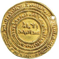 FATIMID: al-Hafiz, 1131-1149, AV dinar (4.16g), Misr, AH530. VF