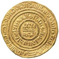 FATIMID: al-Hafiz, 1131-1149, AV dinar (4.25g), Misr, AH534. VF