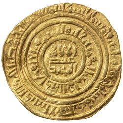 FATIMID: al-Hafiz, 1131-1149, AV dinar (4.11g), al-Iskandariya, AH535. VF